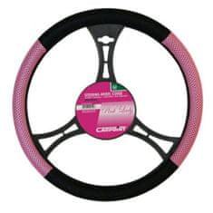 DEPO Auto Parts MZS577745 kormányvédő pink és fekete 38 cm