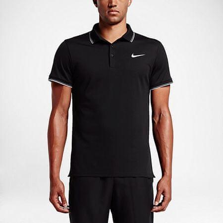 Nike polo majica Court Polo, črna, velikost S