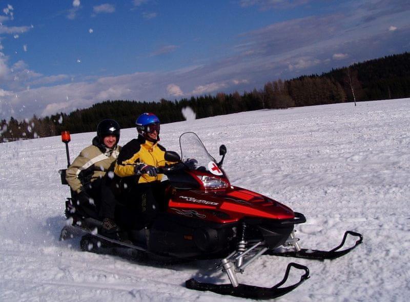 Poukaz Allegria - jízda na sněžném skútru