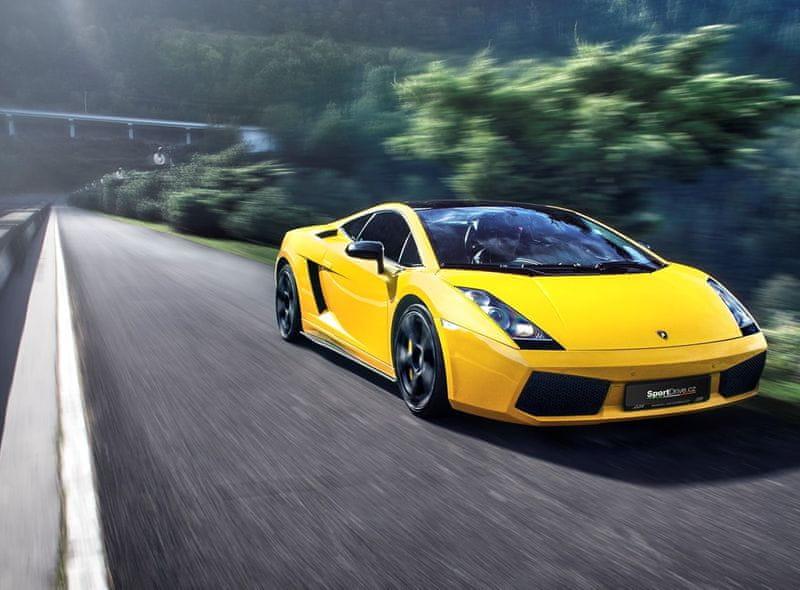 Poukaz Allegria - jízda v Lamborghini Gallardo - 15 minut Olomouc