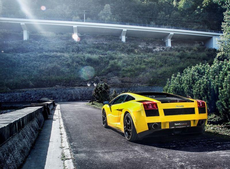 Poukaz Allegria - jízda v Lamborghini Gallardo - 60 minut Brno