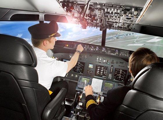 Poukaz Allegria - boeing 737 na 60 minut Praha