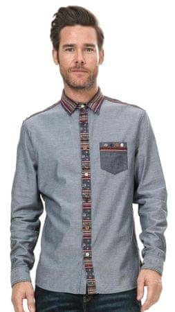 Desigual pánská košile L modrá