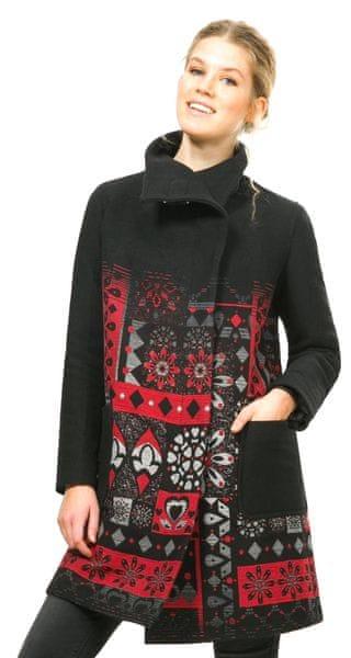 Desigual dámský kabát 40 černá