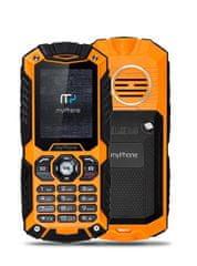 myPhone Hammer Plus, DualSIM, oranžový