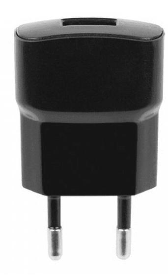 Fontastic síťová nabíječka ESSENTIAL, USB, 1A, černá