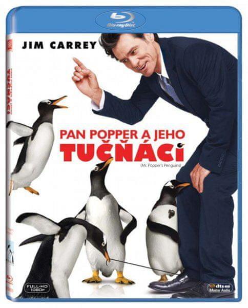 Pan Popper a jeho tučňáci - Blu-ray