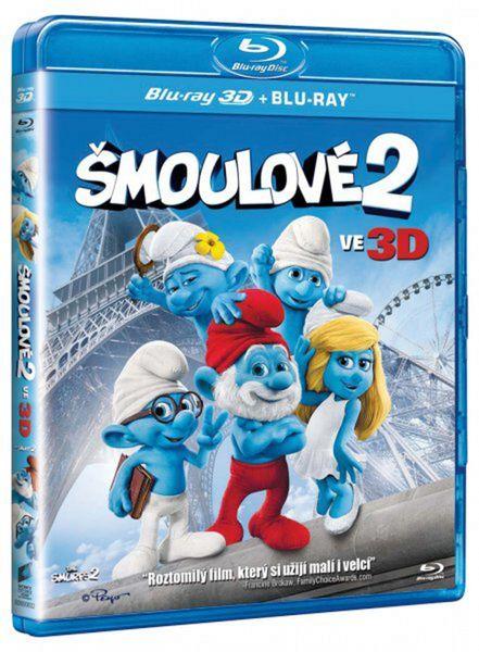 Šmoulové 2 (2D+ 3D verze) - Blu-ray