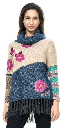 Desigual dámský svetr S vícebarevná