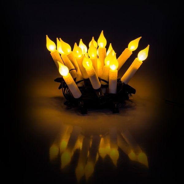 Retlux Řetěz svíčky 20 LED 7 m teplá bílá