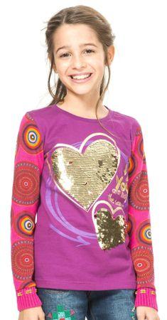 Desigual dekliška majica 152 večbarvna