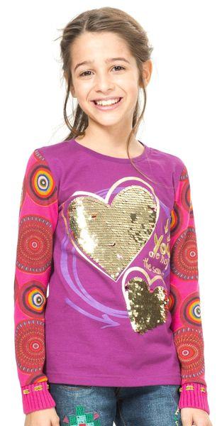 Desigual dívčí svetr 104 vícebarevná