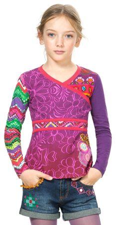 Desigual dívčí tričko 116 vícebarevná