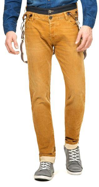 Desigual pánské jeansy 32 okrová