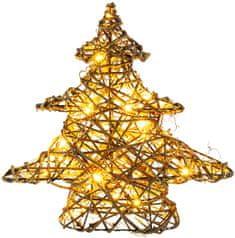 Retlux Karácsonyfa dekoráció, 30 LED