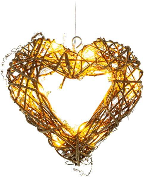 Retlux Závěsné srdce 10 LED