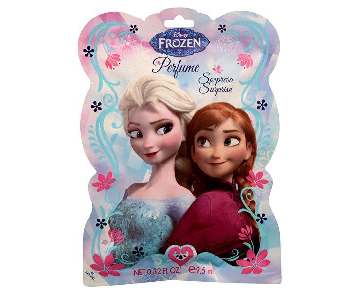 EP Line Disney Frozen - sáček s překvapením (EDT 9,5 ml v peru + záložka + samolepky)
