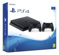 SONY Playstation 4 Slim - 1TB + Dualshock 4