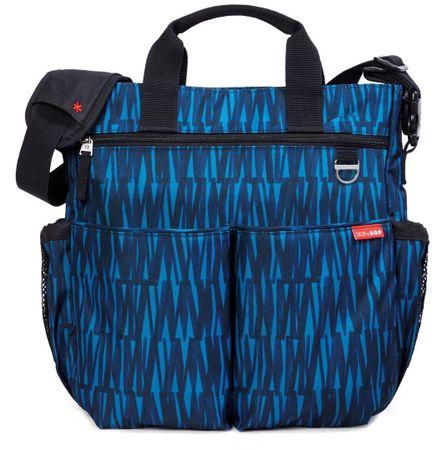 Skip hop previjalna torba Duo Signature, črno-modra