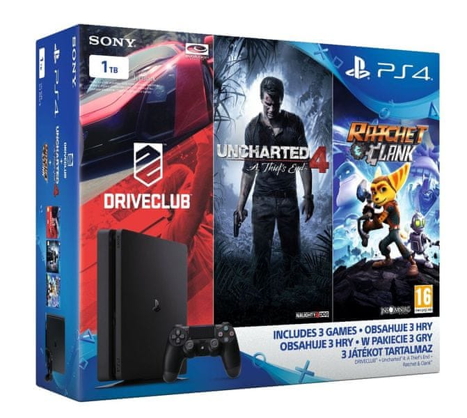 Sony Playstation 4 Family bundle