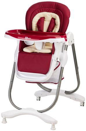 G-mini Jídelní židle Mambo, vínová