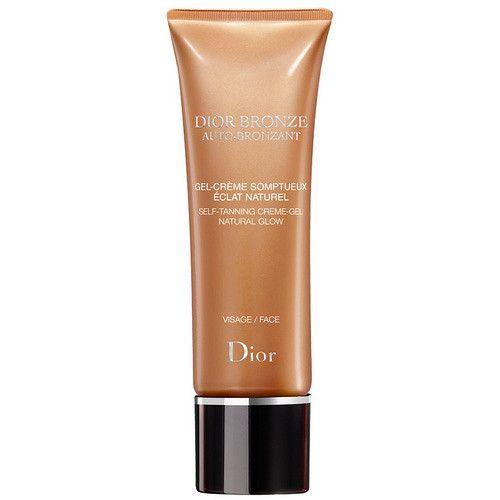 Dior Samoopalovací gel-krém na obličej Bronze Auto-Bronzant (Gel-Creme Natural Glow Face) 50 ml