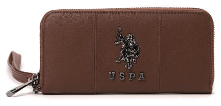 U.S. Polo Assn. ženska denarnica UNI rjava