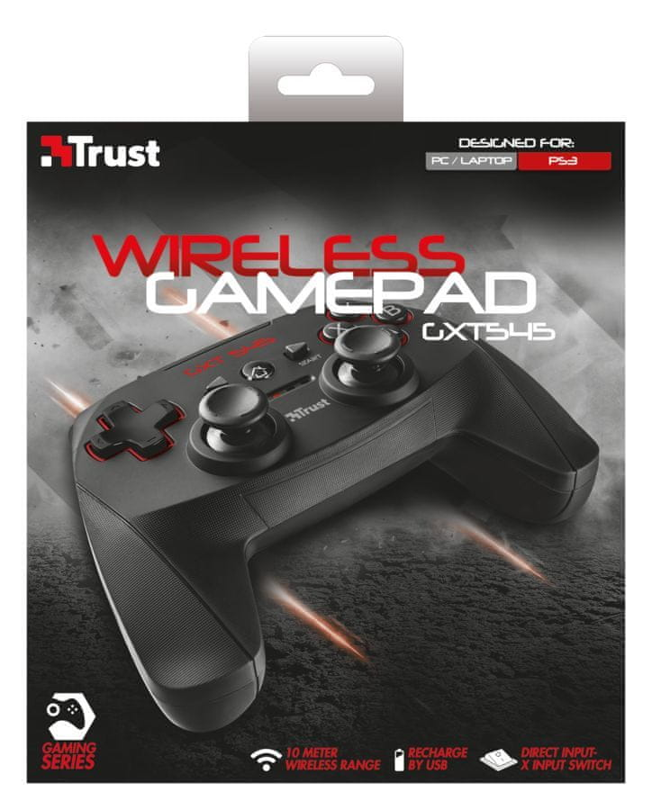 Trust GXT 545 Wireless gamepad (20491) - použité