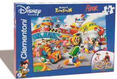 Clementoni Podlahové puzzle 25410 Mickeyho mesto