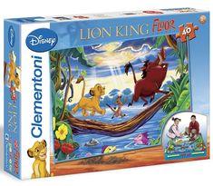 Clementoni Podlahové puzzle 25431 Leví kráľ