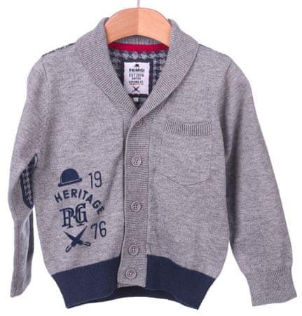 Primigi fantovski pulover 122 siva