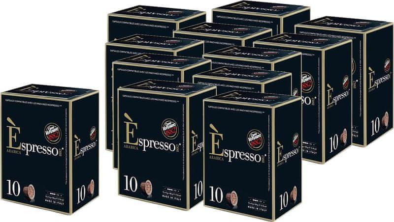 Vergnano Espresso Arabica 10 ks x 12 balení