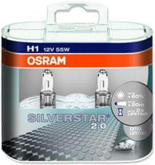 Osram 12V H1 55W P14.5s 2ks Silverstar