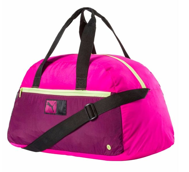 Puma Power Train Grip Bag Pink Glo-Magenta Puma