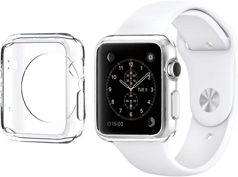 Spigen pouzdro Liquid crystal, Apple Watch (42 mm), čiré