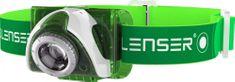 LEDLENSER Seo 3 zelená + akumulátor Seo