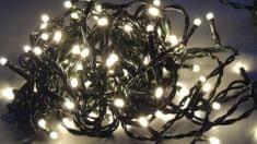 Noel Řetěz 80 LED 7,9+1,5 m teplá bílá