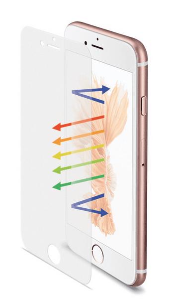 Celly ochranné tvrzené sklo Apple iPhone 6/6S, 0,3 mm, matné