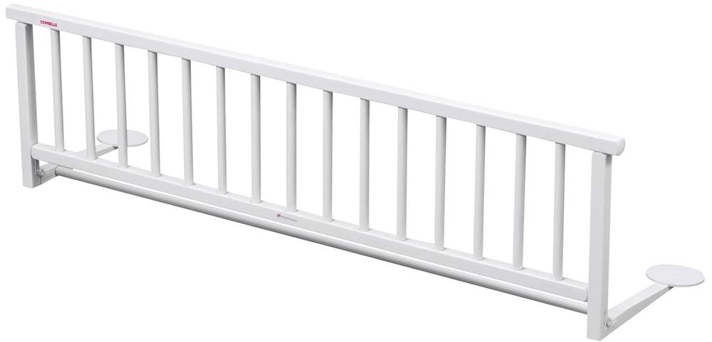 Candide Combelle Dřevěná zábrana k posteli, bílá