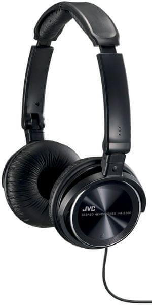 JVC HA-S360-B, černá