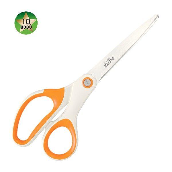 Nůžky titanové Leitz WOW 20,5 cm oranžové