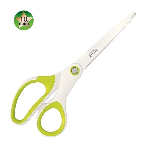 Nůžky titanové Leitz WOW 20,5 cm zelené