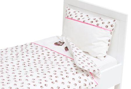 Haton Gyermek baglyos ágyneműhuzat, Rózsaszín