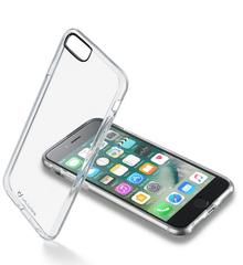 CellularLine zadní čirý kryt s ochranným rámečkem CLEAR DUO pro Apple iPhone 7