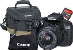 Canon EOS 1300D + 18-55 EF-S DC III Value Up Kit + 1000 Kč od Canonu zpět!