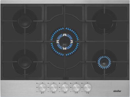 Simfer plinska kuhalna plošča 7501 AGSSP