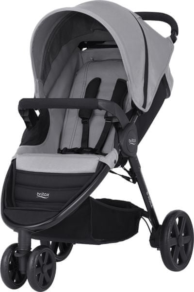 Britax B-AGILE 3 2017, Steel Grey