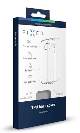 Fixed TPU gelové pouzdro pro Sony Xperia XZ, bezbarvé