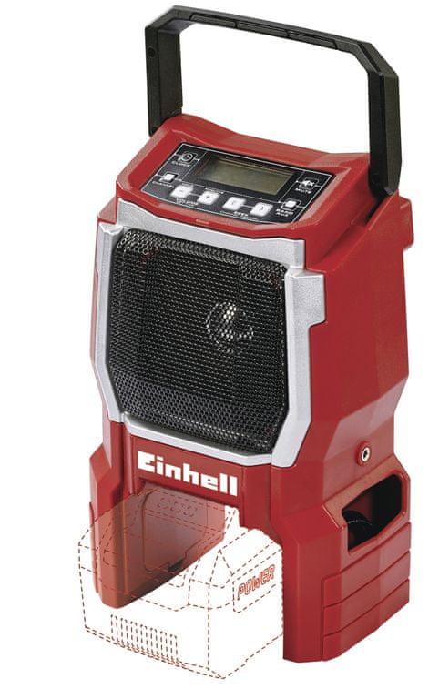 Einhell Rádio aku TE-CR 18 Li (bez baterie) PXC