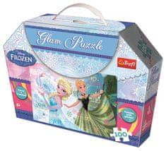 Trefl Třpytivé Glam Puzzle - Ledové království